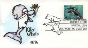 1990 Killer Whale (2508) Steve Wilson HP