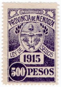 (I.B) Argentina Revenue : Mendoza Local Tax 500P