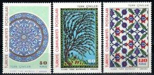 Turkey #1699-1701  MNH  CV $4.35 (X9711)
