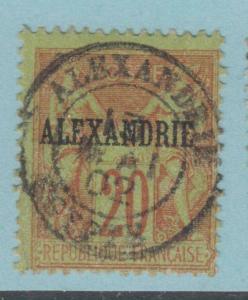 ALEXANDRIA 8  USED   NO FAULTS EXTRA FINE