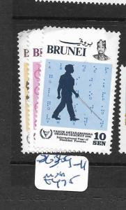 BRUNEI  (PP3105B)  DISABLED PERSONS SG 309-311 M   MNH