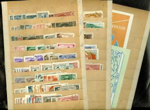 EDW1949SELL : RUSSIA Mint & Used collection of singles & Complete sets Cat $750+