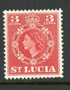 St. Lucia 159 MH 1954
