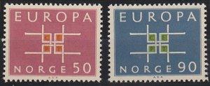Norway 441-442 MNH (1963)