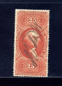 Scott R100c Mortgage Revenue Stamp  (Stock R100-1)