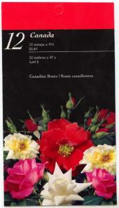 Canada - 2001 47c Roses Complete Booklet #BK245a