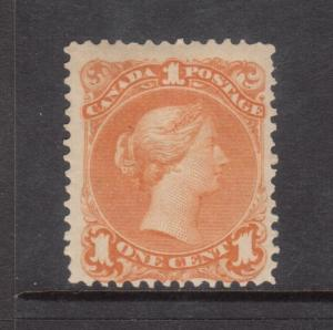 Canada #23 Mint Fine Full Original Gum Hinged **With Certificate**