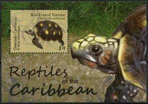 2012 Grenada Grenadines 4745/B656 Reptiles / Turtles 7,50 €