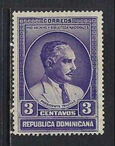 DOMINICAN REPUBLIC 313 VFU O801-9