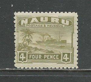 Nauru # 23a Unused HR