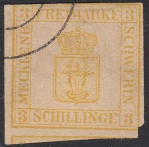 GERMANY MECKLENBURG STRELITZ.  An old forgery of a classic stamp............C346