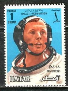 Qatar; 1969: Sc. # 190: **/MNH Single Stamp