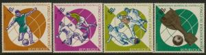 Congo DR 578-81 MNH Sports, World Cup Soccer