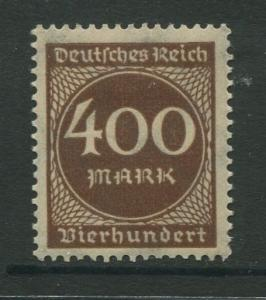 Germany -Scott 232 - Definitive Issues -1922 -  MLH - Single 400m Stamp