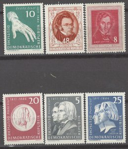 COLLECTION LOT # 3111 GERMANY DR 6 MNH STAMPS 1952+ CV+$10