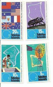 Tokelau 33-36 MNH