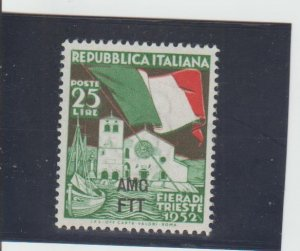 Trieste  Scott#  151  MH  (1952 Overprinted)