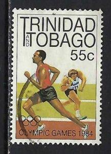 TRINIDAD & TOBAGO 413 VFU RUNNER 356G-1