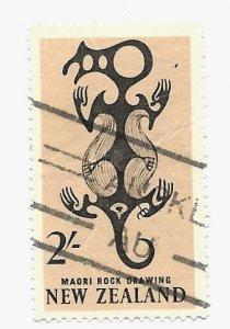 New Zealand 1960 - U - Scott #347 *
