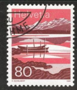 Switzerland Scott 907 MNH** 1991 stamp  precanceled