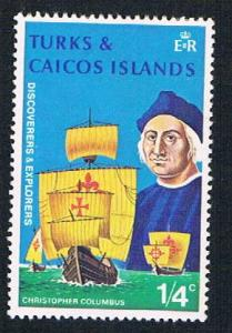 Turks & Caicos 253 MHR Columbus 1972 (BP2641)