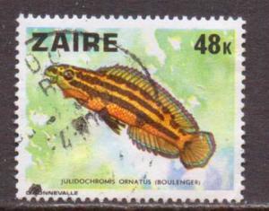 Zaire    #869  used  (1978)  c.v. $1.25