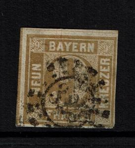 Bavaria SC# 12, Used, Lower Thin - Lot 082217
