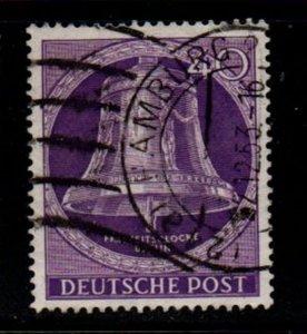 Germany Berlin Sc 9N98 1953 40 pf Bell stamp used