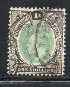 Southern Nigeria Sc 27 1904 1/ Edward VII stamp used