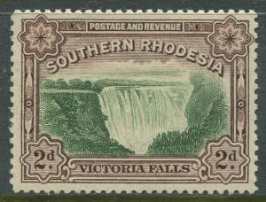 STAMP STATION PERTH Southern Rhodesia #31 Victoria Falls Issue MVLH CV$7.00