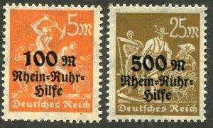 Deutsches Reich    SC.# B 1-2 MNH**