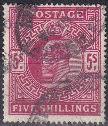 Great Britain #140 F-VF Used CV $225.00 Z998