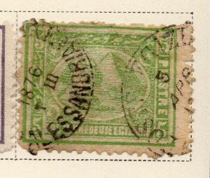 Egypt 1872 Early Issue Fine Used 5p. 324046