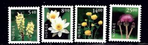 Norway 1244-47 MNH 2000 Flowers    (ap1443)