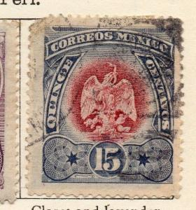 Mexico 1899 Early Issue Fine Used 15c. 074478