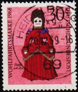Germany. 1968 30pf+15pf S.G.1475 Fine Used