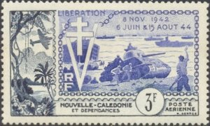 New Caledonia Scott #'s C25 MNH