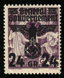 Deutsches Reich, 1940, Overprint, MNH, YT #38 (T-8160)