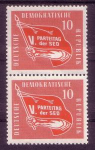 *DDR 5th Congress of the Socialist Party Sc 393 Pair MNH