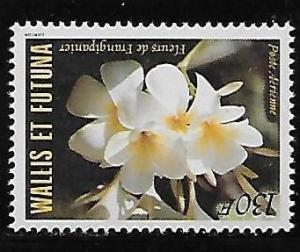Wallis and Futuna Islands C131 Flower single MNH