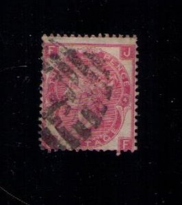 Great Britain Sc #44 (P4) Used F-VF CV $190.00