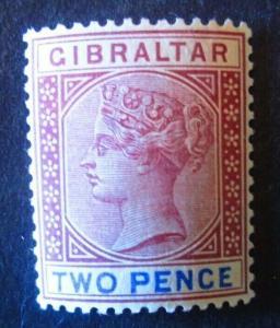 Gibraltar #13 Mint Hinged - (AZ5) WDWPhilatelic!