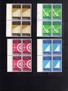 GERMANY - GERMANIA - ALLEMAGNE 1969 VERSO GIOCHI OLIMPICI MONACO 1972 PREOLIM...