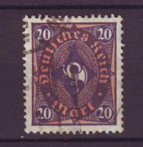 J8392 JL stamps @20% 1921-2 germany used #182 $2.50v wmk 126