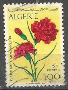 ALGERIA, 1973, used 1d, Flower Scott 498