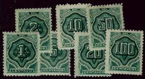 Ecuador J1-J7 Mint F-VF SC$42.00....Grab a Bargain!