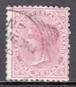 New Zealand - Scott #61b - Used - Couple short perfs at right - SCV $7.00
