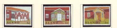 Aland Finland Sc 149-51 1998 Homestead Foyers stamp set mint N