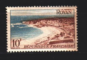 France. 1954. 1006 from the series. City of Rouen. MNH.