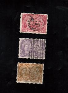 Canada #61 #62 #63 Used Fine - Very Fine High Value Trio